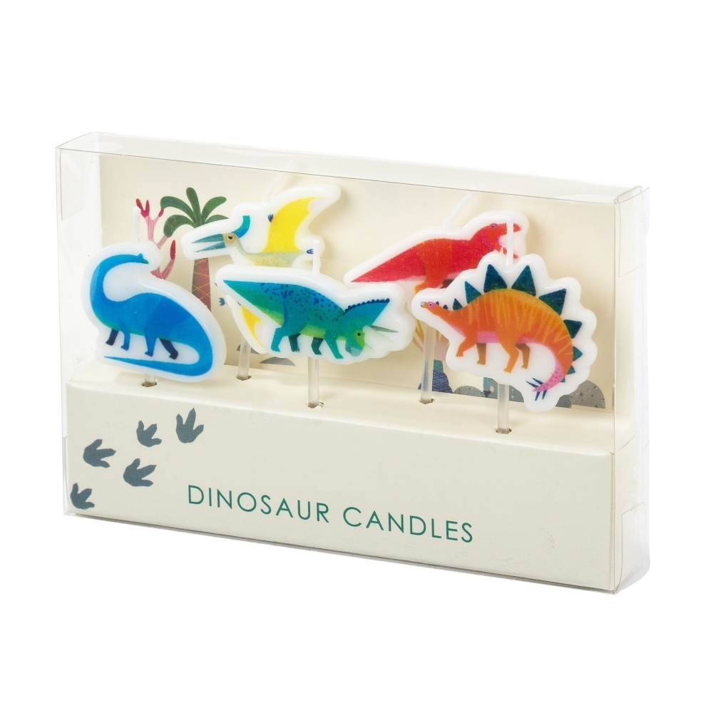 The Cake Decorating Co Dinosaur Candles