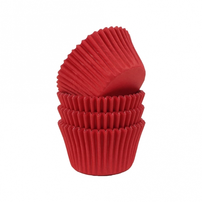 The Cake Decorating Co. Fancy Red - Baking Cases x 180 Cups