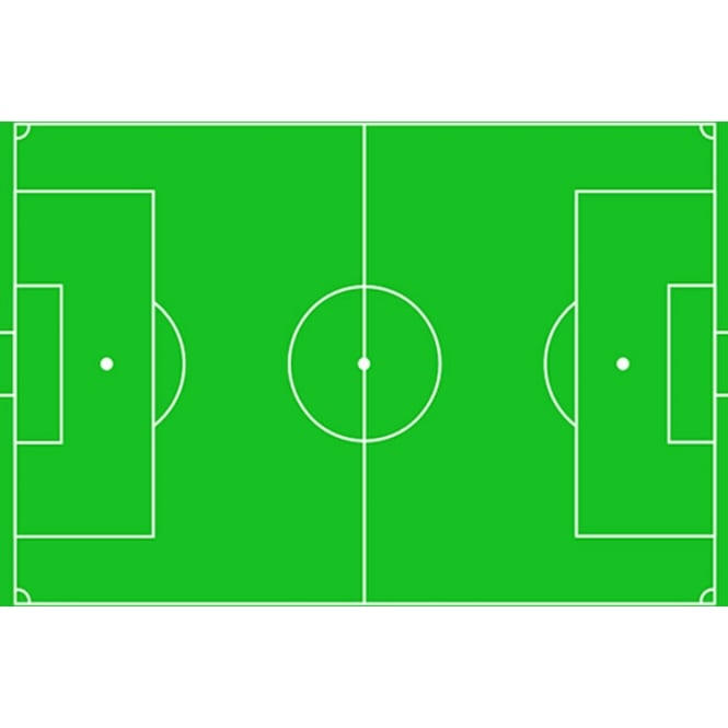 The Cake Decorating Co. Football Pitch Edible Icing Sheet