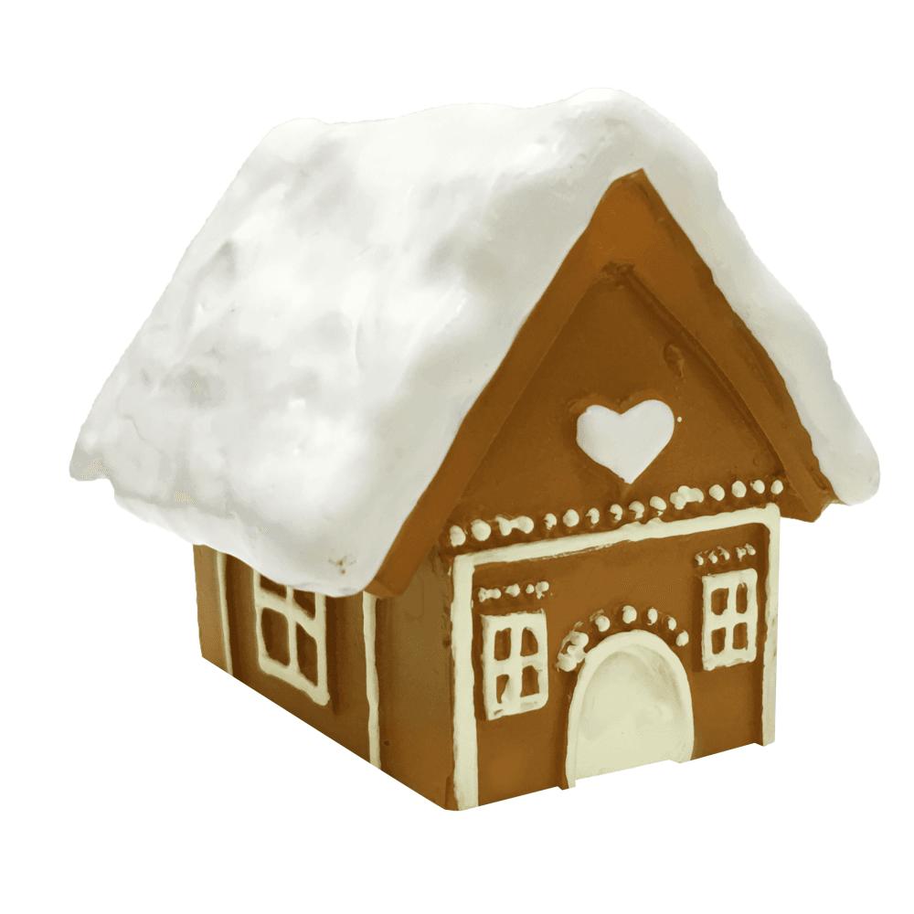 Gingerbread House Resin Cake Topper   Christmas Cake Topper