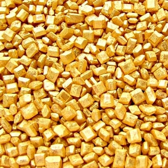 Gold Sparkling Sugar Crystals 65g