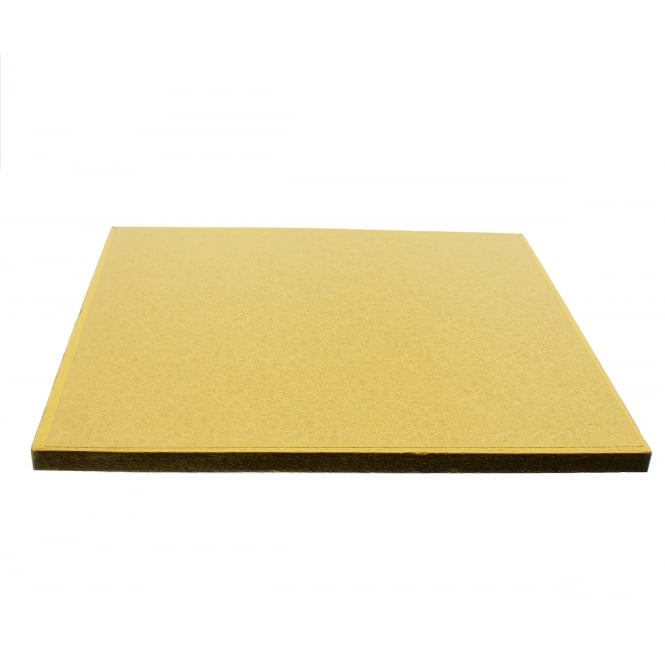 The Cake Decorating Co. Gold Square Drum Cake Board - Choose A Size