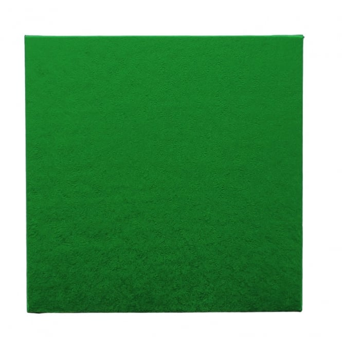 The Cake Decorating Co. Green Square Drum Cake Board - Choose Your Size