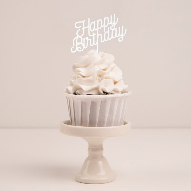 Tremendous Happy Birthday Cupcake Topper Funny Birthday Cards Online Fluifree Goldxyz