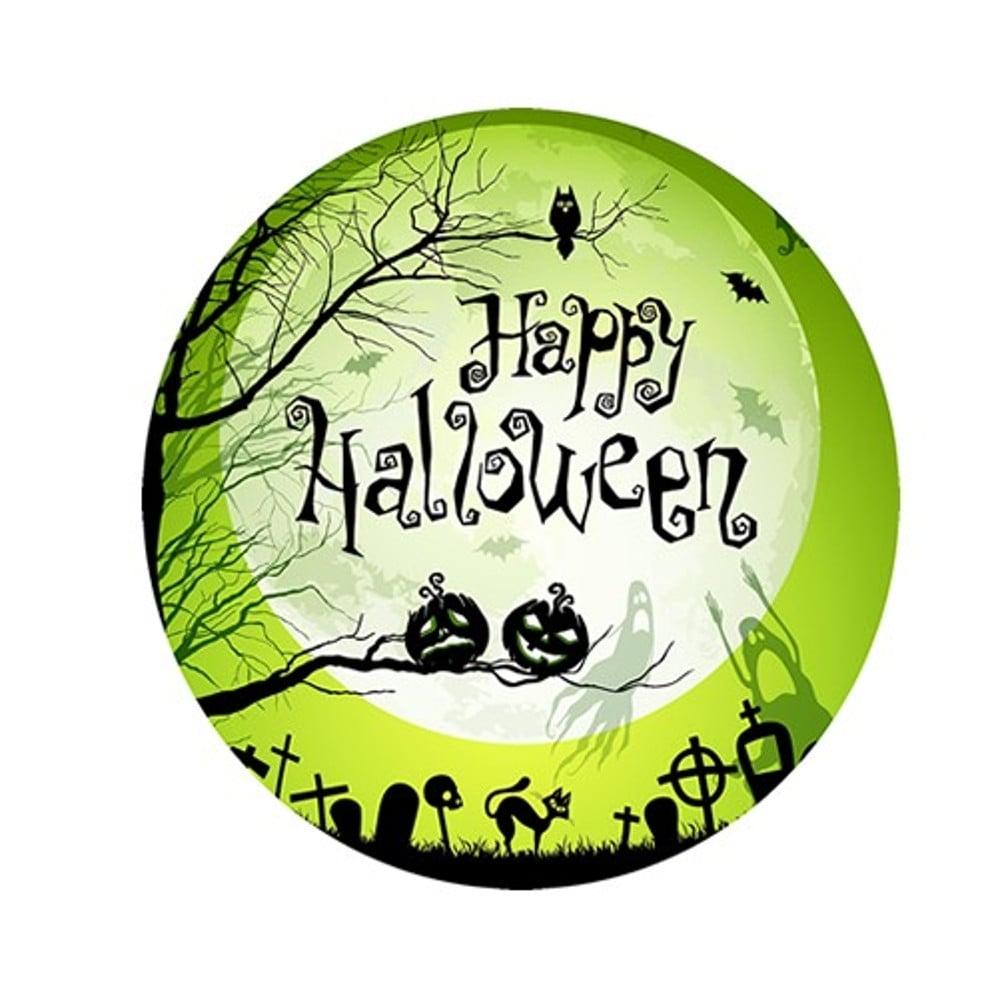 The Cake Decorating Co. Happy Halloween Pumpkin Edible ...