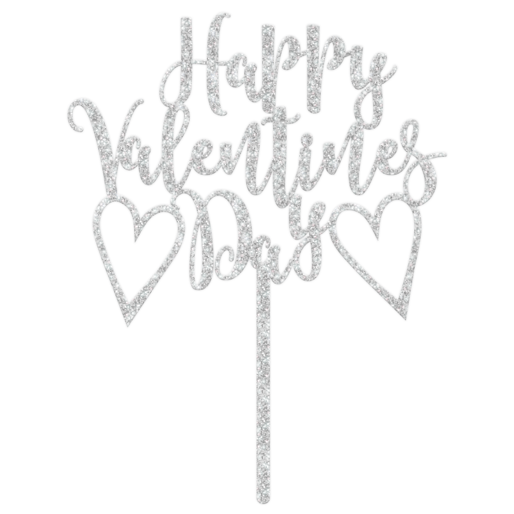 Happy Valentines Day Cake Topper Cake Decorating Toppers