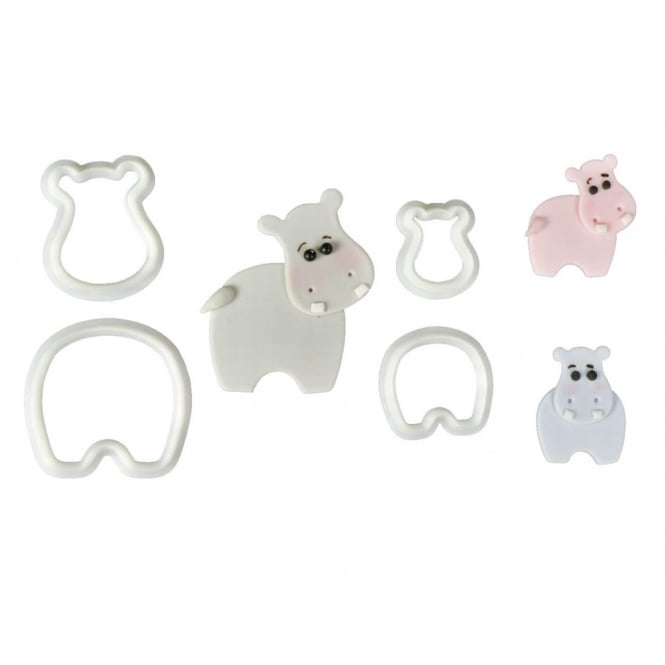 The Cake Decorating Co. Hippopotamus Cutter Set - FMM