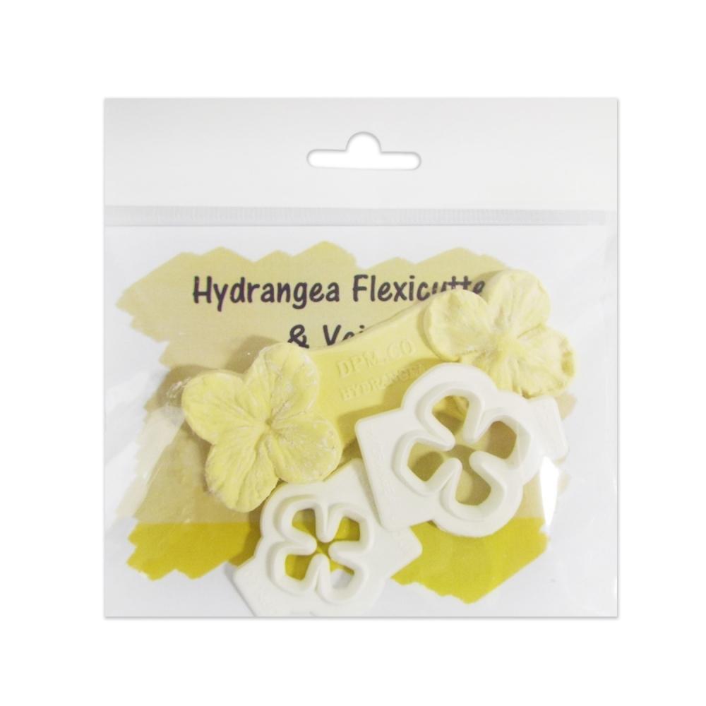 Hydrangea Cutters Veiner Set Hydrangea Flower Decorations