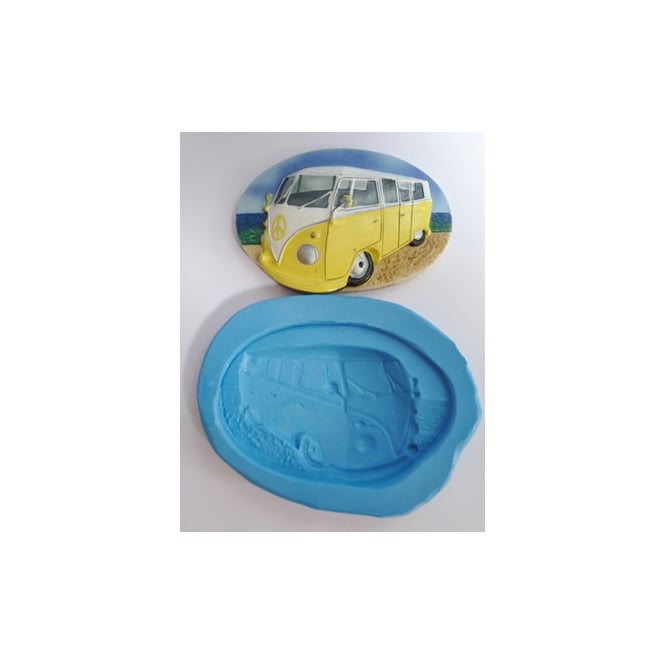 The Cake Decorating Co. Large Volkswagen Campervan Plaque Silicone Mould