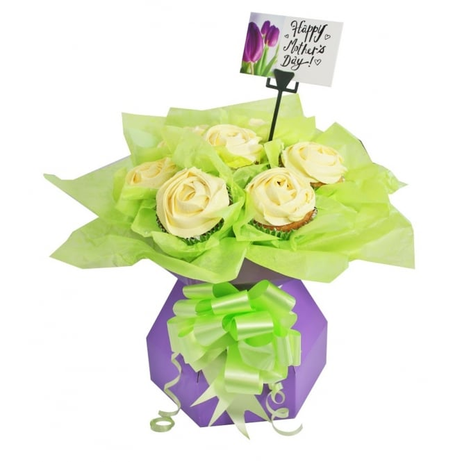 The Cake Decorating Co. Lilac Cupcake Bouquet Box Kit
