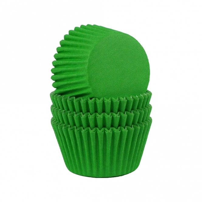 The Cake Decorating Co. Lime Green - Baking Cases x 180 Cups