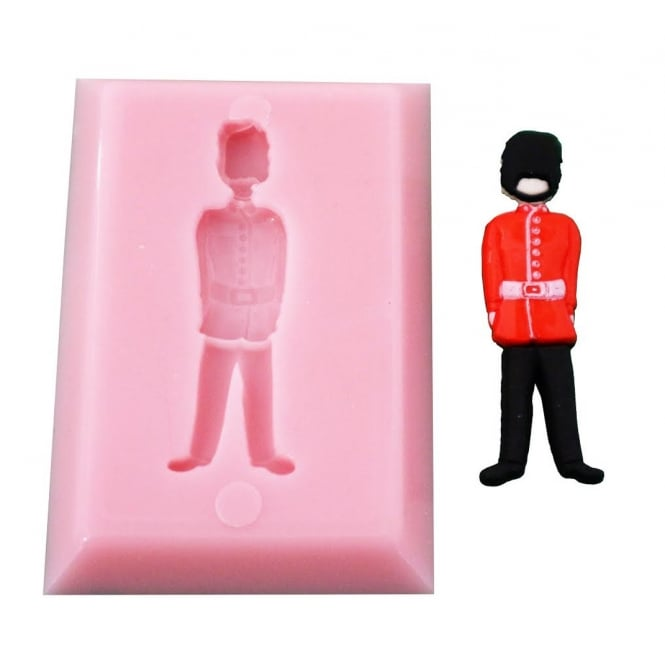 The Cake Decorating Co. London Queens Guard Silicone Mould