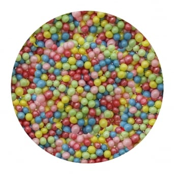 Mixed Carnival Blend - 4mm Edible Pearls - 500g