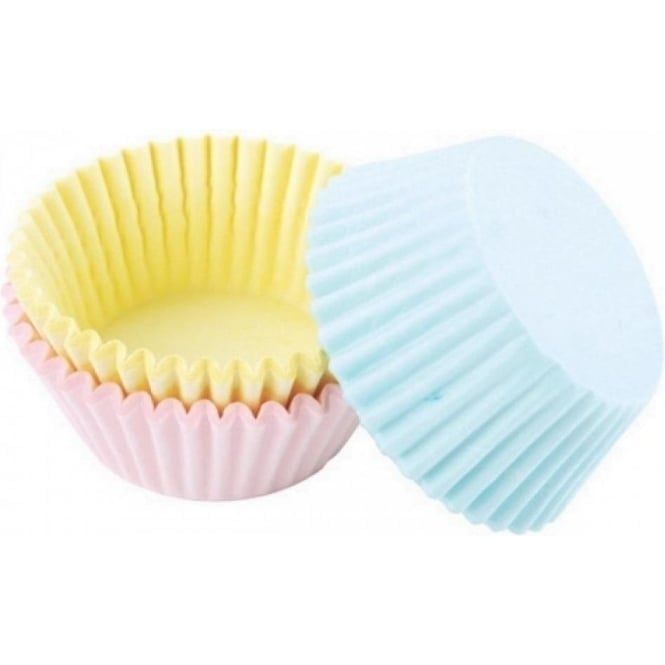 The Cake Decorating Co. Mixed Standard Pastel Coloured Baking Cases x 60 Cups