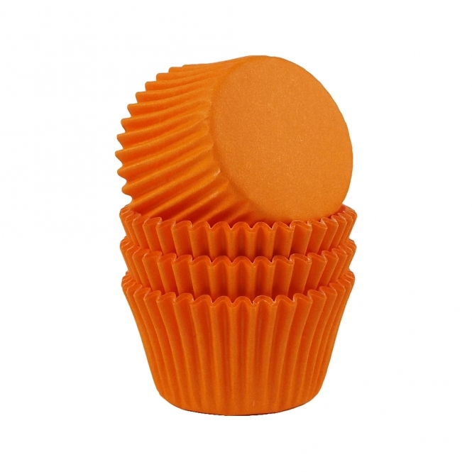 The Cake Decorating Co. Orange - Baking Cases x 180 Cups