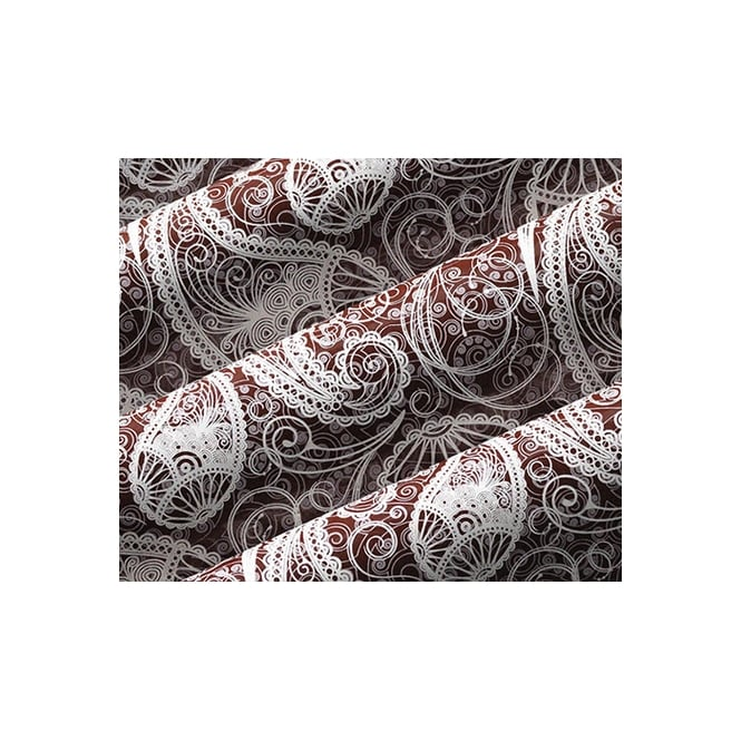 The Cake Decorating Co. Paisley Print Chocolate Transfer Sheet
