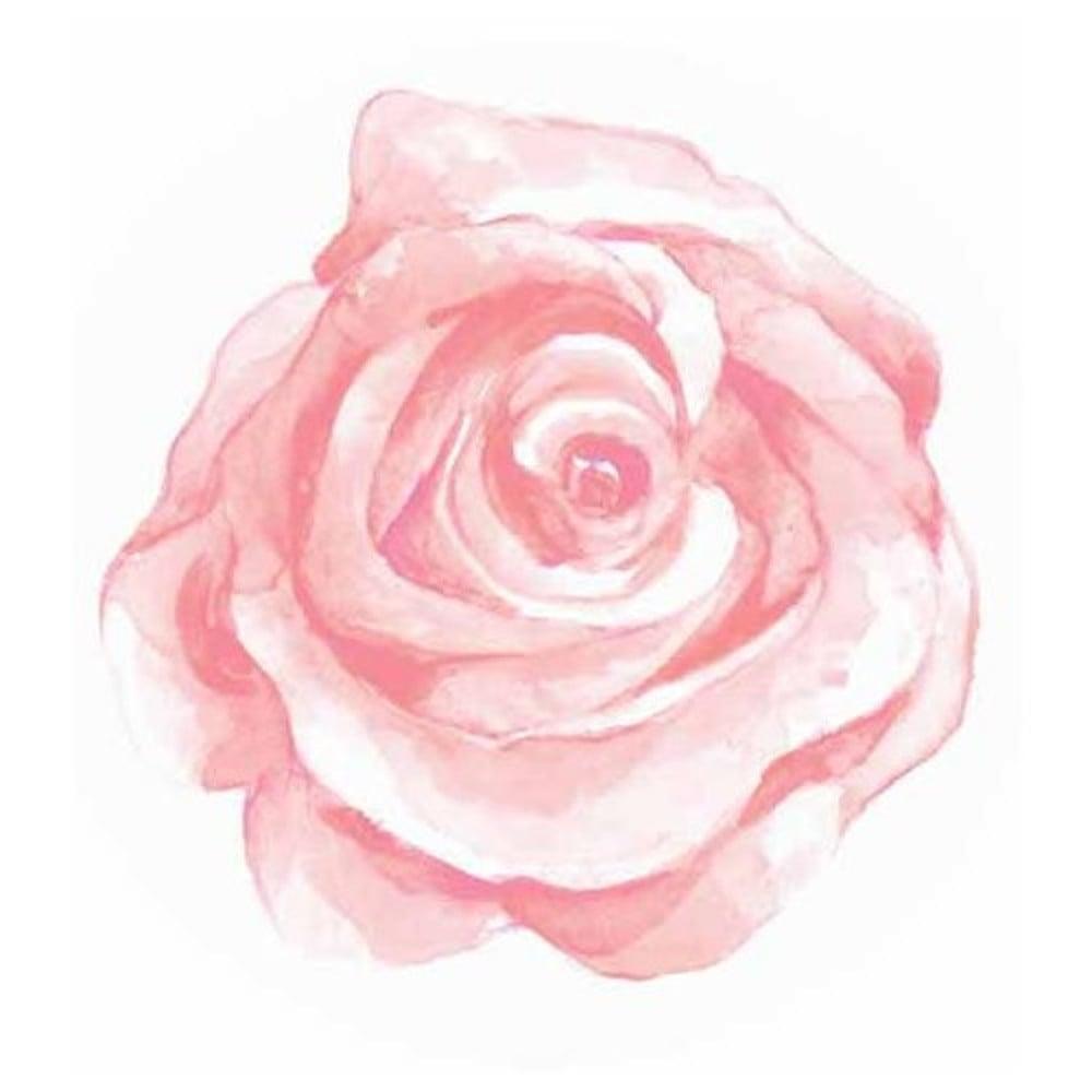 Pink Rose Cake Topper Edible Rose Cupcake Toppers