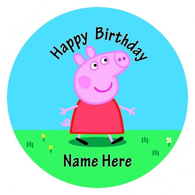 The Cake Decorating Co. Peppa Pig Edible Images