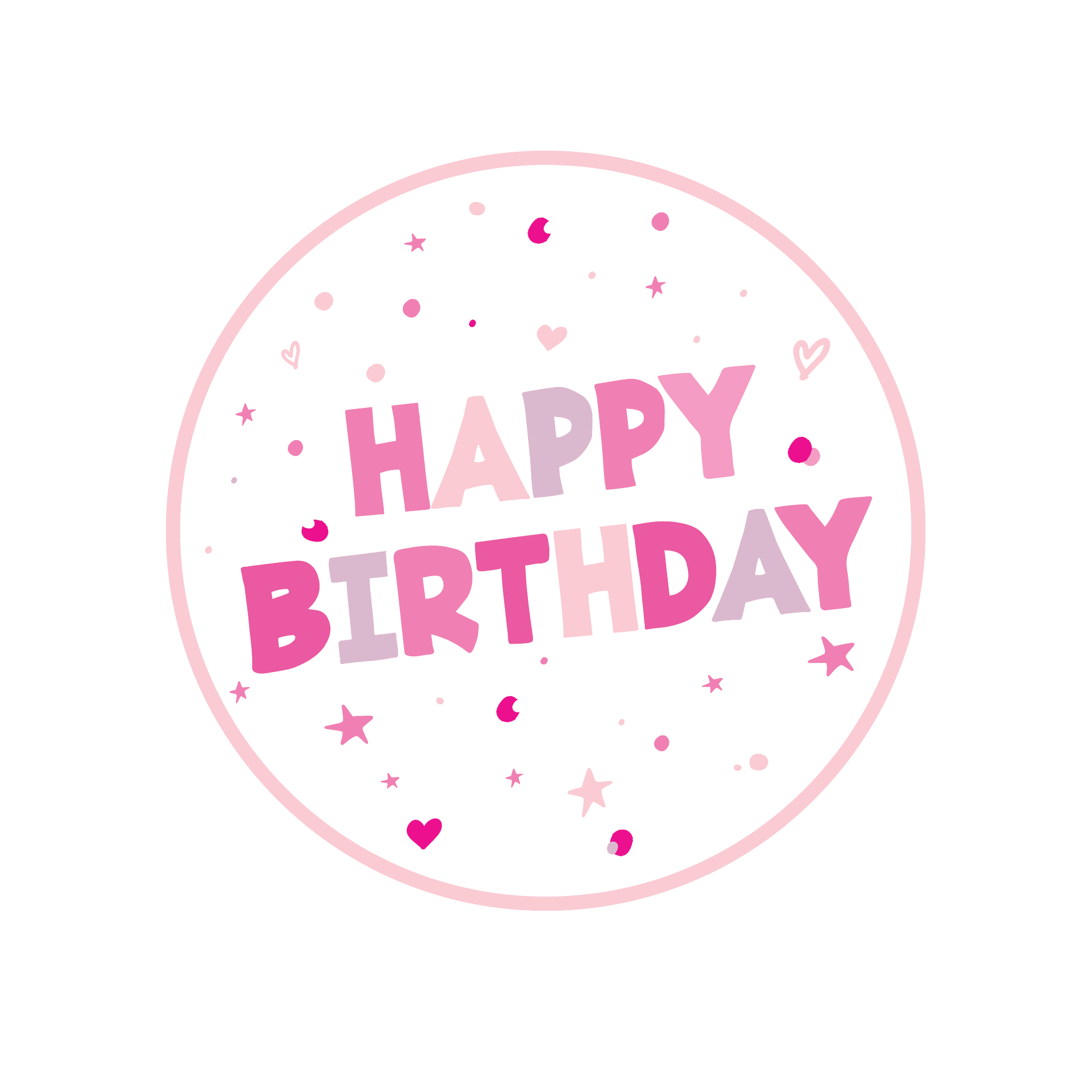 Remarkable Happy Birthday Edible Images Multicoloured Birthday Cupcake Toppers Personalised Birthday Cards Paralily Jamesorg