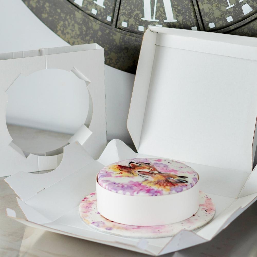 Wondrous Postable Cake Box For Round Cakes Shipping Cake Boxes Funny Birthday Cards Online Inifofree Goldxyz