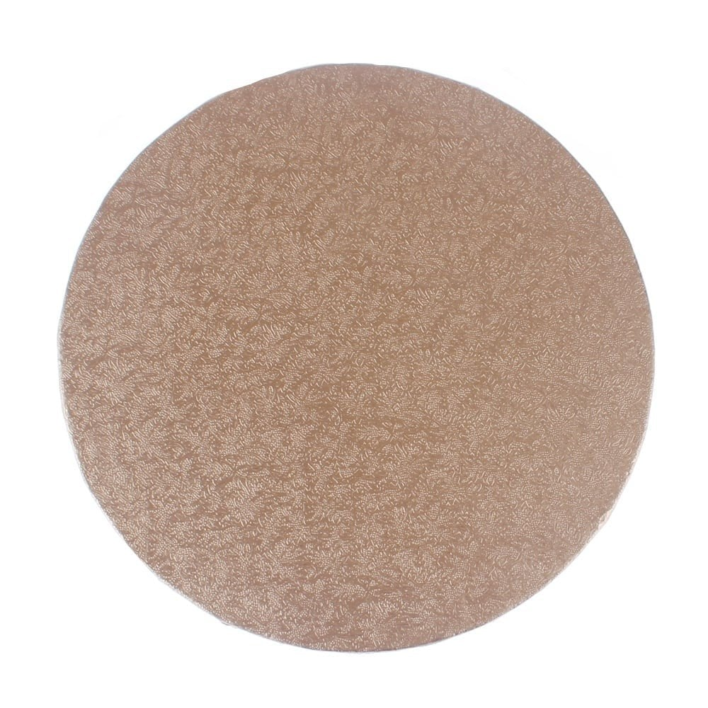 Rose Gold Round Drum Cake Board