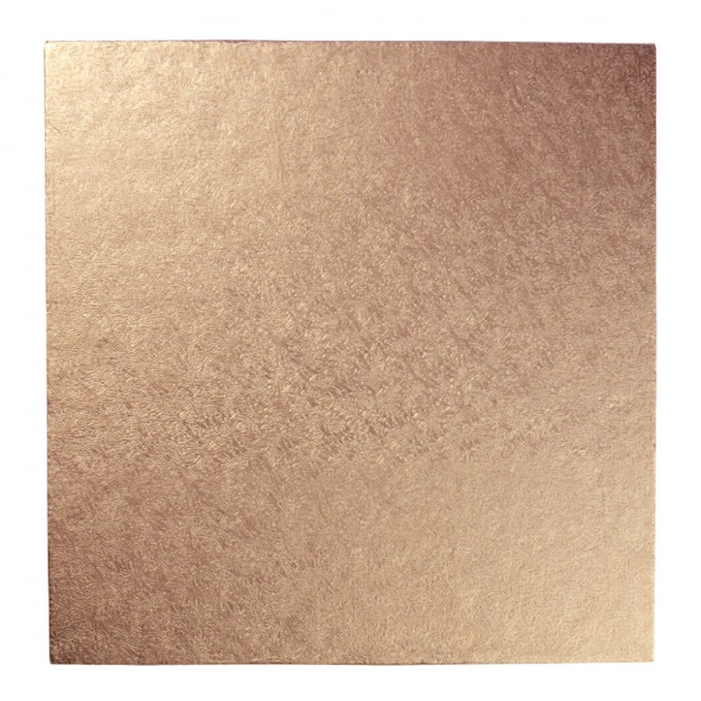 new product f108a d3ff5 Rose Gold Square Drum Cake Board