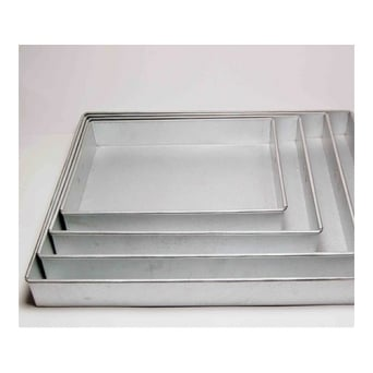 Set Of 4 Rectangle Baking Trays