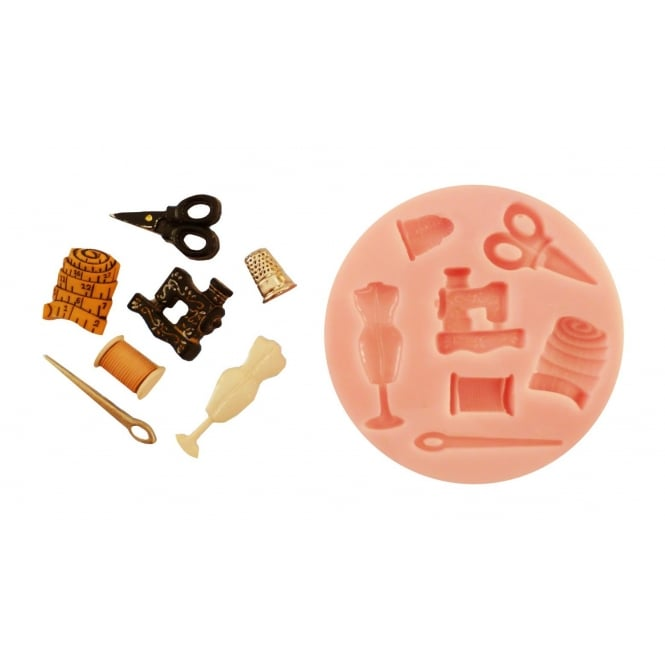 The Cake Decorating Co. Sewing Kit Silicone Mould