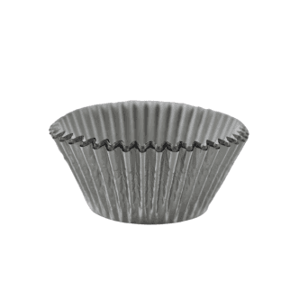 Silver - Foil 50mm Baking Cases x 500 Cups