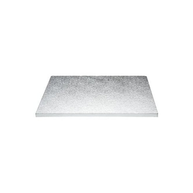 The Cake Decorating Co. Silver Oblong Drum Cake Board - Choose A Size
