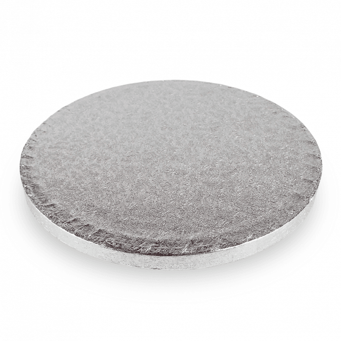 The Cake Decorating Co. Silver Round Drum Cake Board - Choose A Size