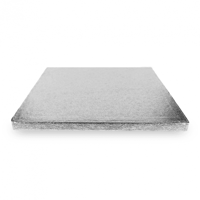 The Cake Decorating Co. Silver Square Drum Cake Board - Choose A Size