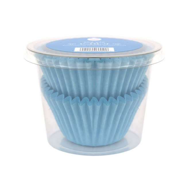 The Cake Decorating Co. Sky Blue - Muffin Cases x 50