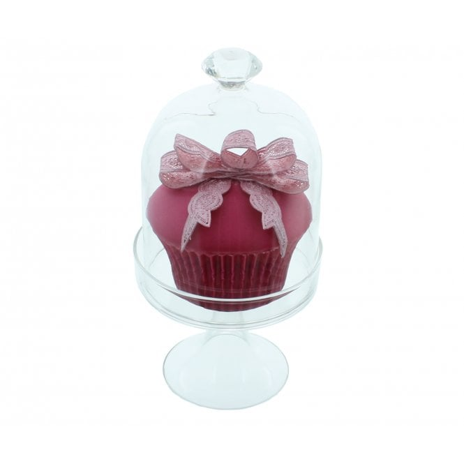 The Cake Decorating Co. Small Vintage Diamante Glass Dome With Swarovski Elements By Claire Bowman