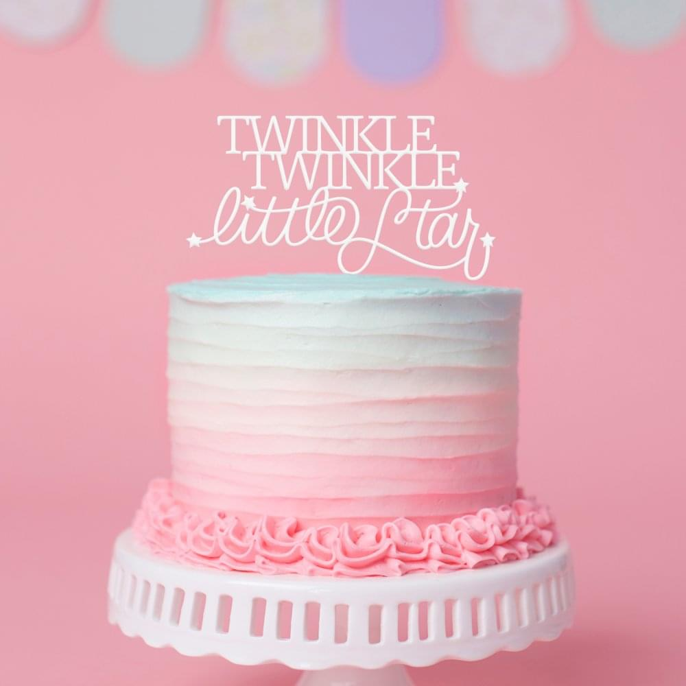 Twinkle Star Cake Topper | Stylish Cake Decorations