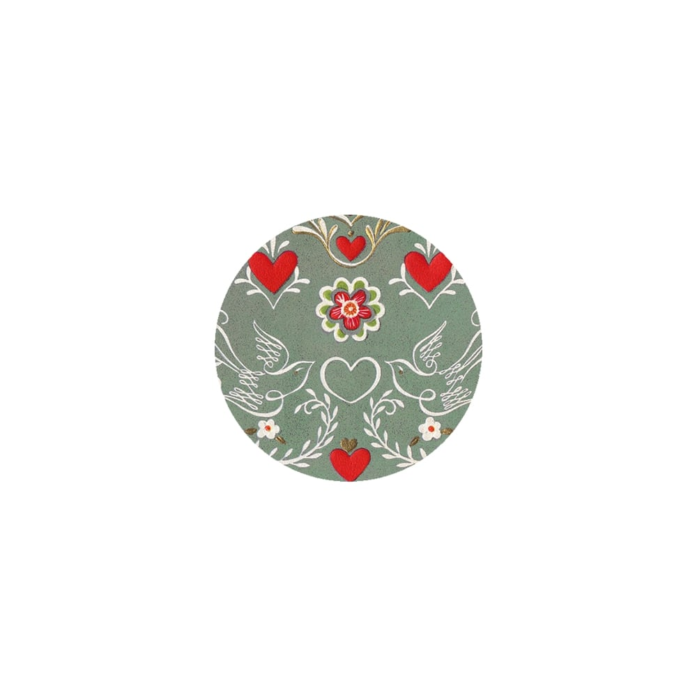 Cake Decorating Edible Images : The Cake Decorating Co. Valentine Pattern Edible Print ...