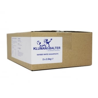 White Kaybee Sugar Paste 5kg - Kluman And Balter