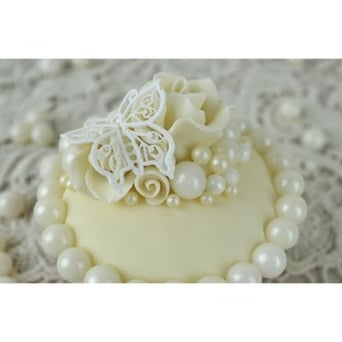 White Pearl - 10mm Edible Pearls - 500g