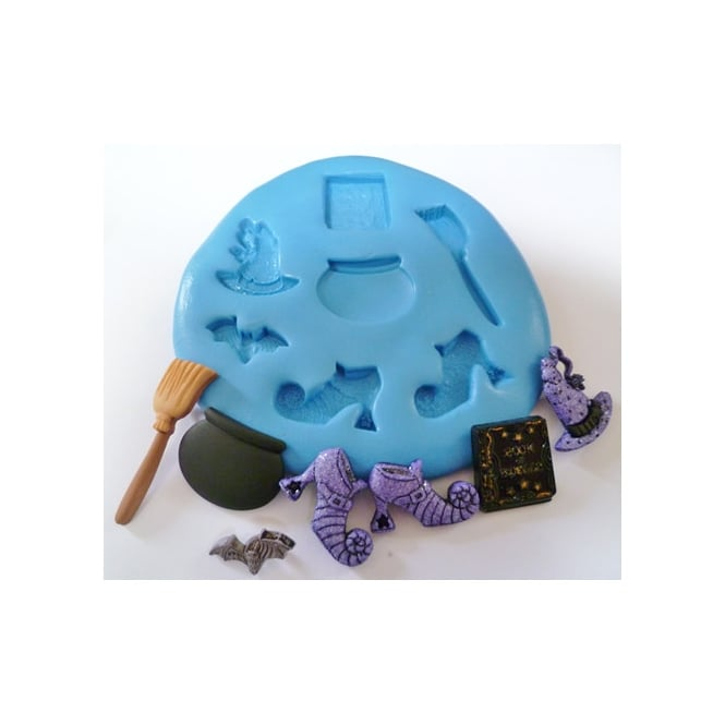 The Cake Decorating Co. Witches Essentials Silicone Mould