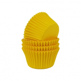 Yellow - Baking Cases x 180 Cups