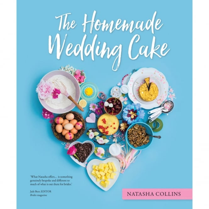 Natasha Collins  The Homemade Wedding Cake Hardback Book - Natasha Collins