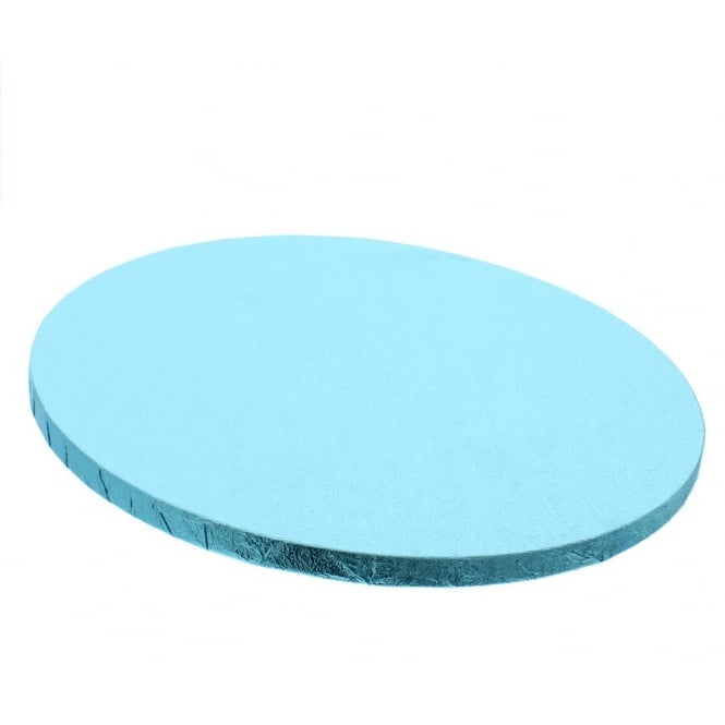 The Cake Decorating Co. 10 Inch Baby Blue Round Drum Cake Board