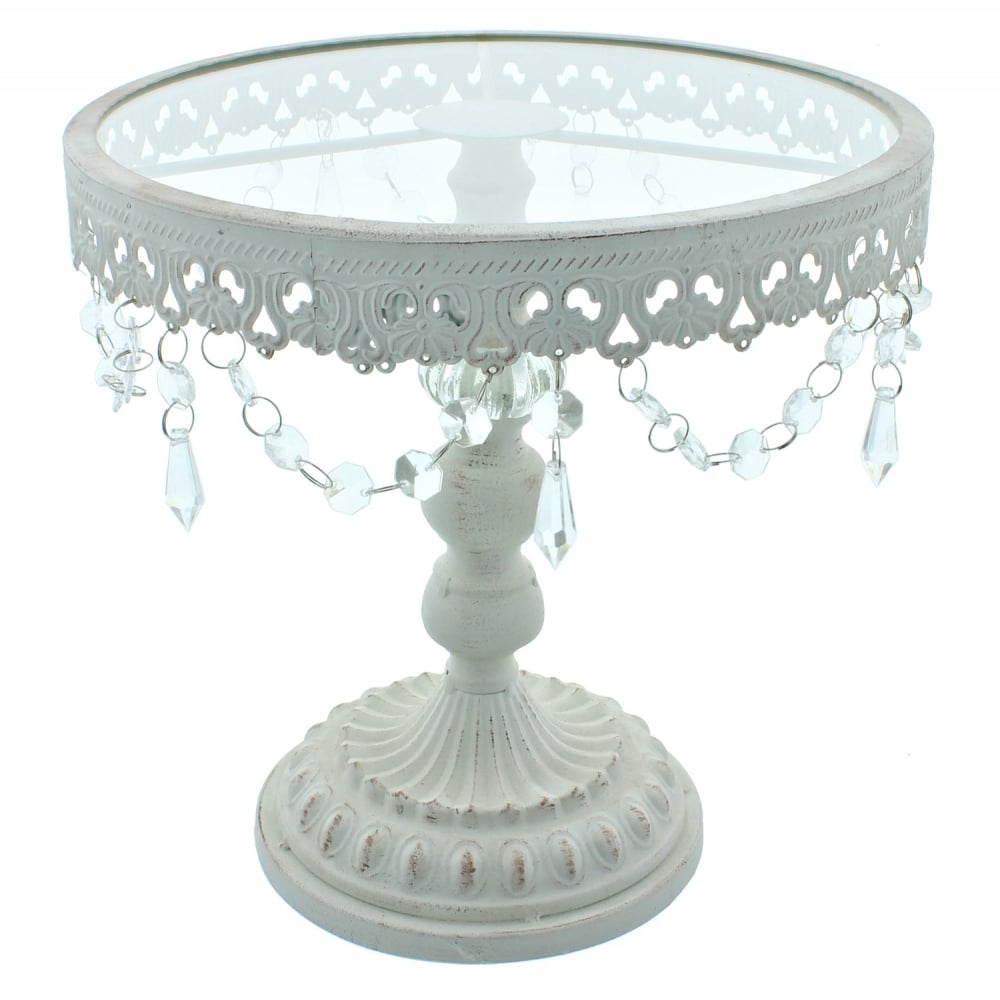 white cake stand the cake decorating co 11 inch white shabby chic cake 30523