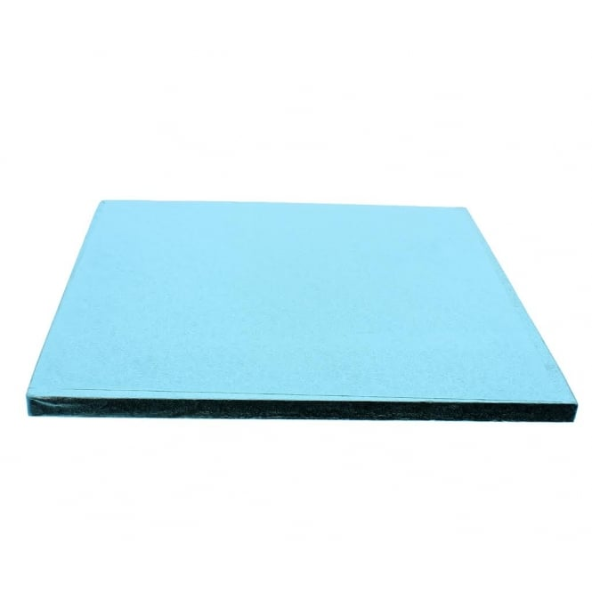 The Cake Decorating Co. 12 Inch Square Baby Blue Drum Cake Board