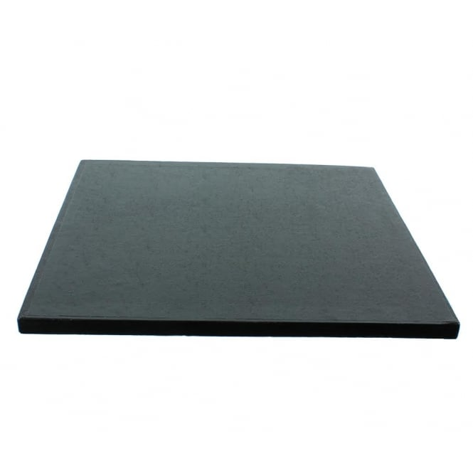 The Cake Decorating Co. 12 Inch Square Black Drum Cake Board