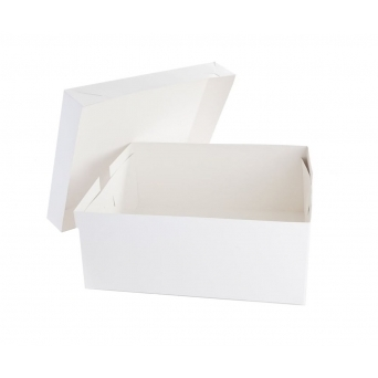 18 Inch x 14 Inch Oblong Cake Box
