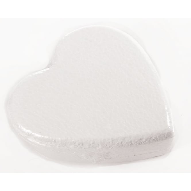 The Cake Decorating Co. 6 Inch Heart Polystyrene Cake Dummy