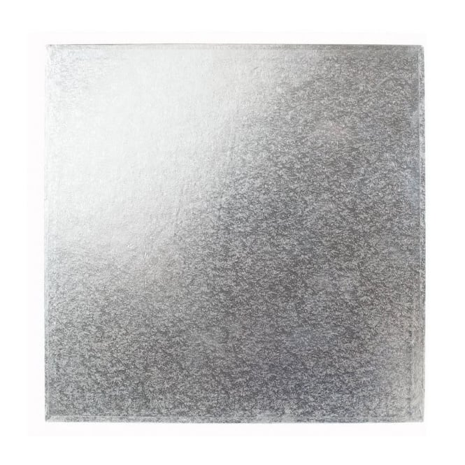 The Cake Decorating Co. 8 Inch Silver Square 3mm Cake Board