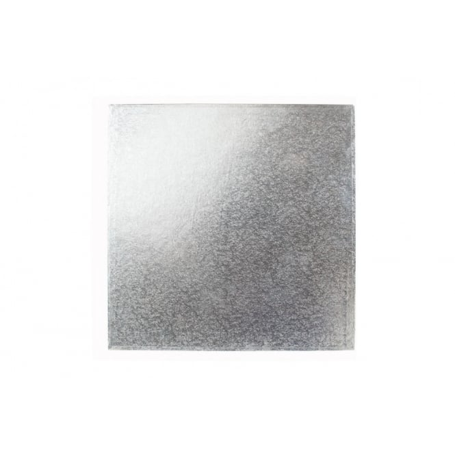 The Cake Decorating Co. 9 Inch Silver Square 3mm Cake Board