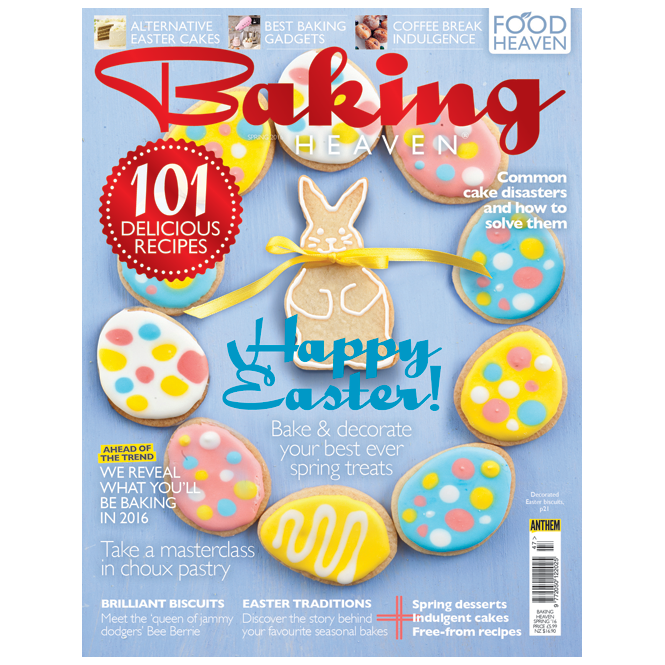 The Cake Decorating Co. Baking Heaven - Spring 2016 Issue